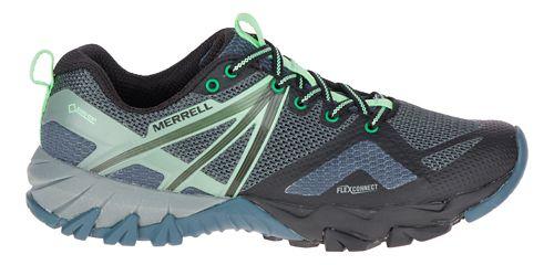 Womens Merrell MQM Flex GORE-TEX Hiking Shoe - Grey/Black 8.5