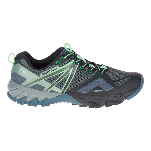 Womens Merrell MQM Flex GORE-TEX Hiking Shoe - Grey/Black 11
