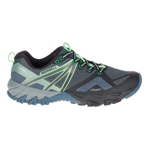 Womens Merrell MQM Flex GORE-TEX Hiking Shoe - Grey/Black 8