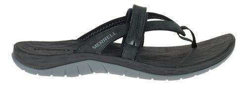 Womens Merrell Siren Flip Q2 Sandals Shoe - Black 5