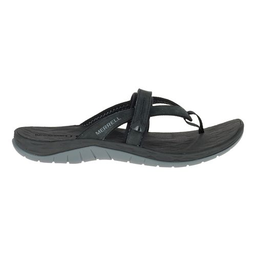 Womens Merrell Siren Flip Q2 Sandals Shoe - Black 7