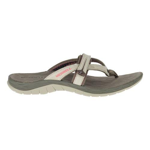 Womens Merrell Siren Flip Q2 Sandals Shoe - Aluminum 5