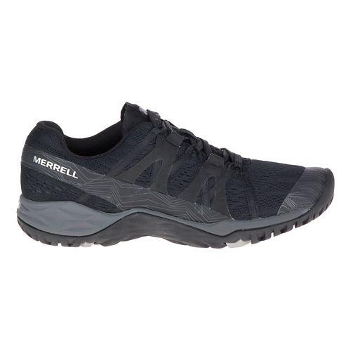 Womens Merrell Siren Hex Q2 E-Mesh Hiking Shoe - Super Black 8.5