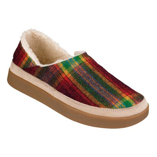 Womens Sanuk Little Bootah Casual Shoe - Vintage Rainbow 9.5