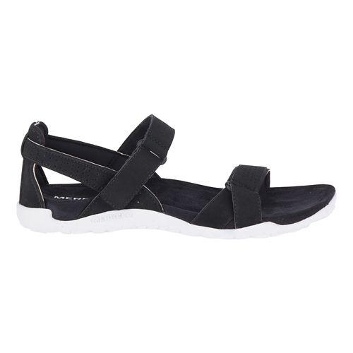 Womens Merrell Terran Ari Backstrap Sandals Shoe - Black 5