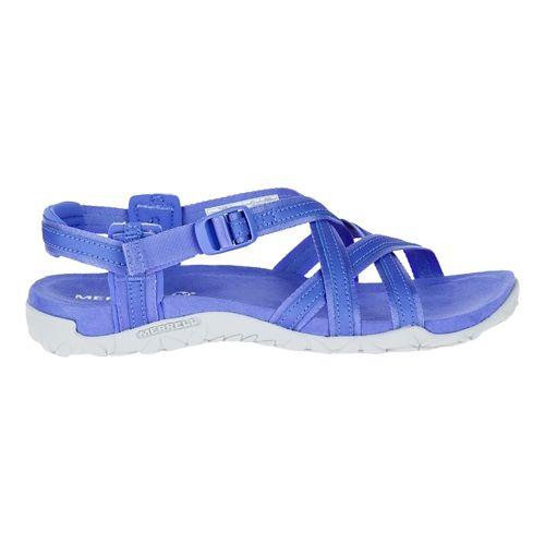 Womens Merrell Terran Ari Lattice Sandals Shoe - Baja Blue 11