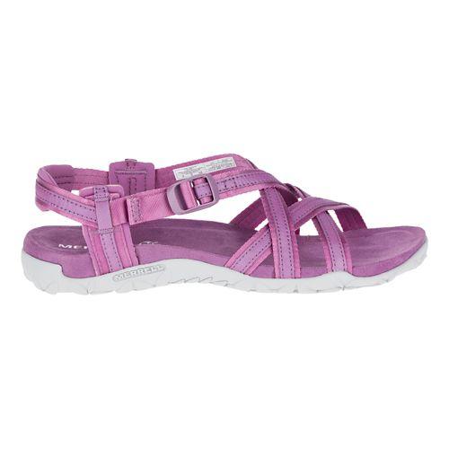 Womens Merrell Terran Ari Lattice Sandals Shoe - Very Grape 8