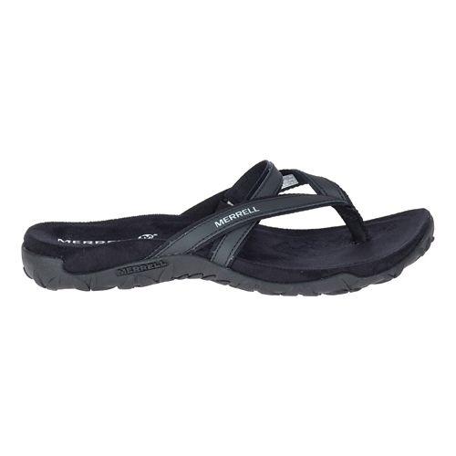 Womens Merrell Terran Ari Post Sandals Shoe - Black 7