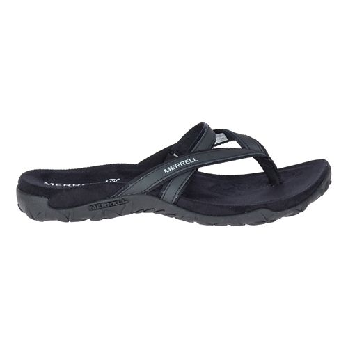 Womens Merrell Terran Ari Post Sandals Shoe - Black 8