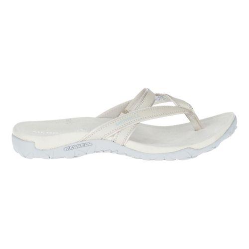 Womens Merrell Terran Ari Post Sandals Shoe - Silver Lining 9