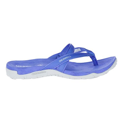 Womens Merrell Terran Ari Post Sandals Shoe - Baja Blue 6