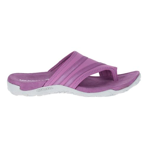 Womens Merrell Terran Ari Wrap Sandals Shoe - Silver Lining 8