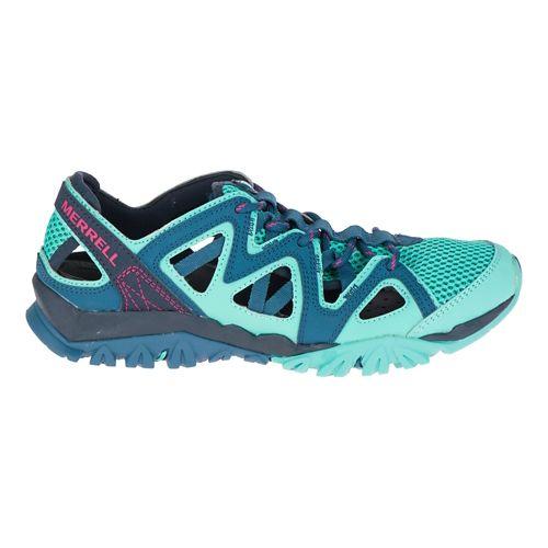 Womens Merrell Tetrex Crest Wrap Hiking Shoe - Legion Blue 5