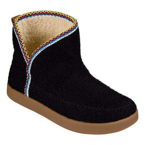 Womens Sanuk Nice Bootah Casual Shoe - Black 8