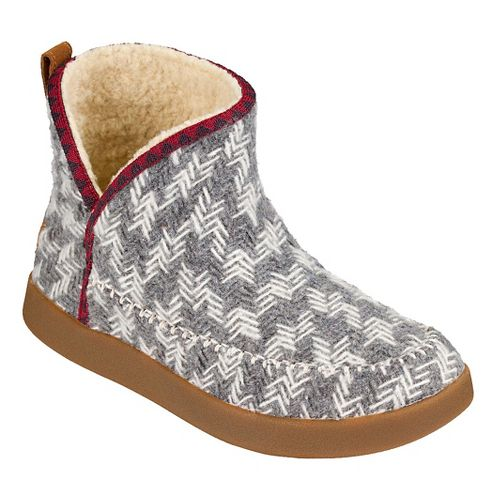 Womens Sanuk Nice Bootah Casual Shoe - Grey Arrowooly 8
