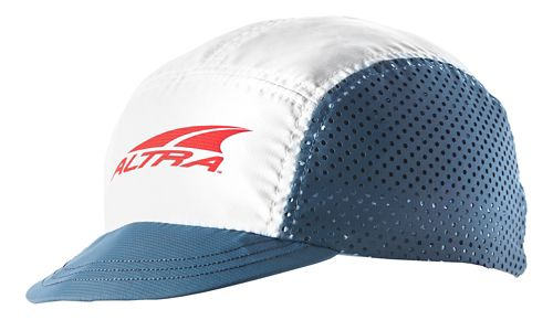 Altra Racing Hat Headwear - White/Grey/Red