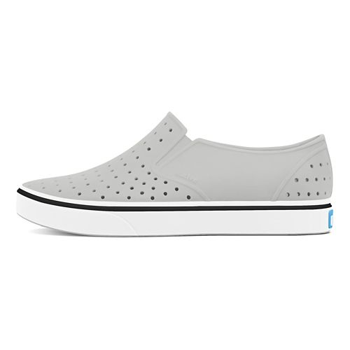 Kids Native Miles Casual Shoe - Grey/White 6C
