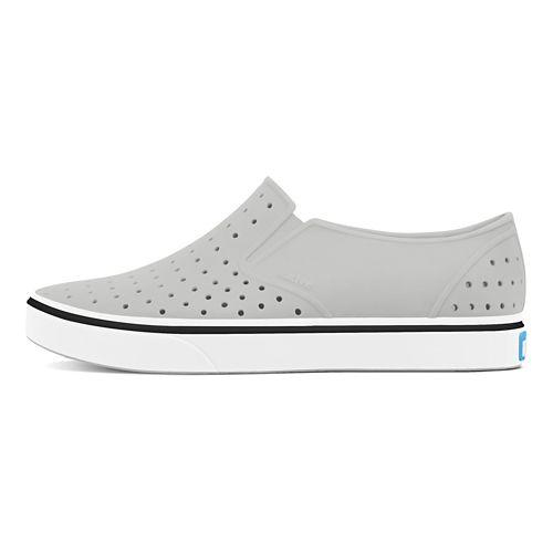 Kids Native Miles Casual Shoe - Grey/White 8C