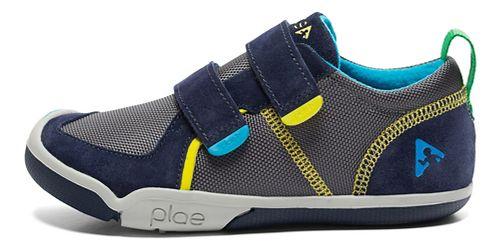 Kids Plae Ty Casual Shoe - Navy/Steel 11C