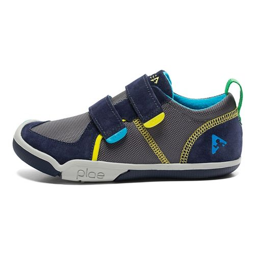 Kids Plae Ty Casual Shoe - Navy/Steel 10C