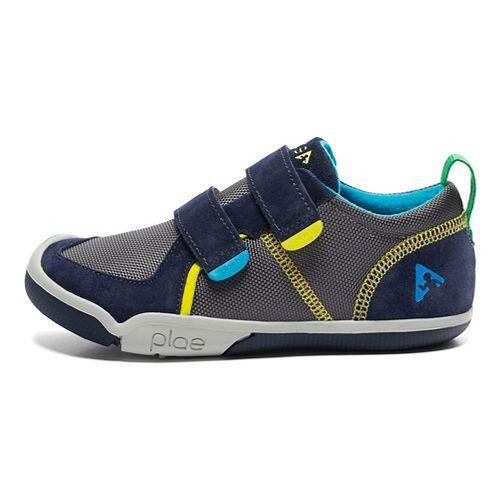 Kids Plae Ty Casual Shoe - Navy/Steel 5C