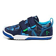 Kids Plae Ty Casual Shoe - Blue Camo 8C
