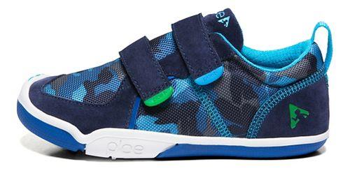 Kids Plae Ty Casual Shoe - Blue Camo 13C