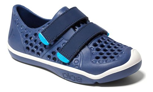 Kids Plae Mimo Casual Shoe - Blue 8C