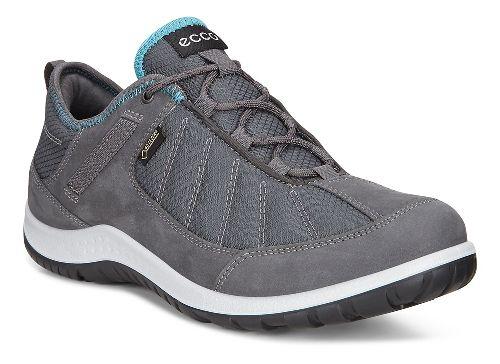 Womens Ecco Aspina GORE-TEX Casual Shoe - Dark Shadow Navy/Grey 36
