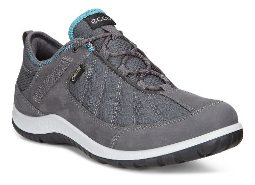 Womens Ecco Aspina GORE-TEX Casual Shoe - Dark Shadow Navy/Grey 38