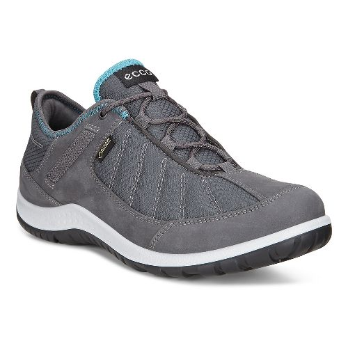 Womens Ecco Aspina GORE-TEX Casual Shoe - Dark Shadow Navy/Grey 39