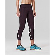 Womens 2XU Mid-Rise 7/8 with Storage Compression Tights