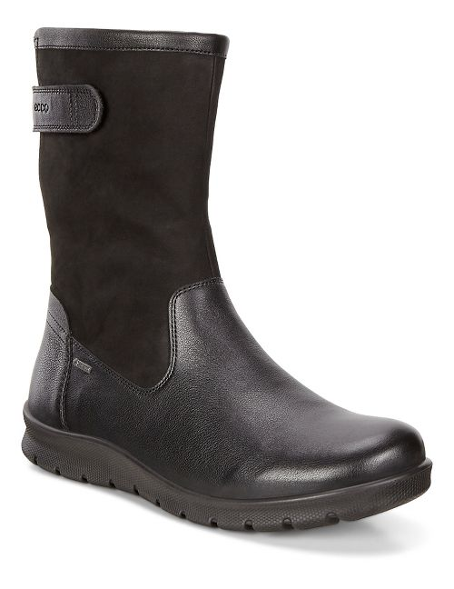 Womens Ecco Babett GTX Boot Casual Shoe - Black 41