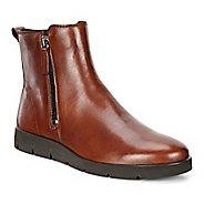 Womens Ecco Bella Bootie Casual Shoe - Cognac Brown 37