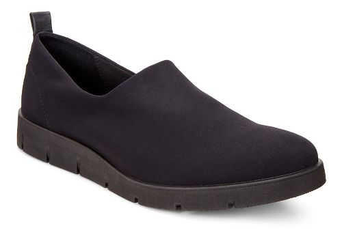 Womens Ecco Bella Slip On Casual Shoe - Black/Black 41