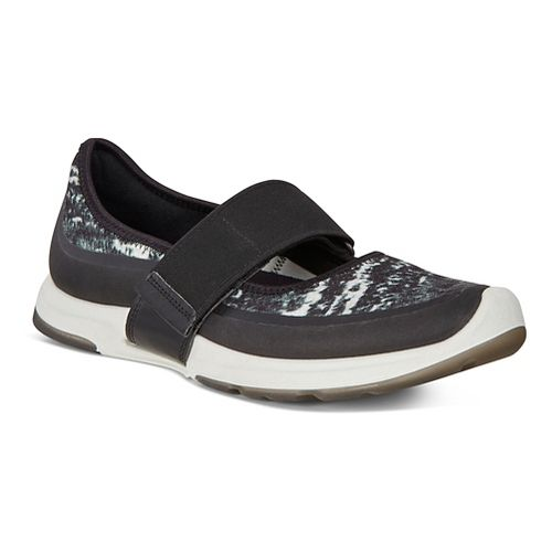 Womens Ecco BIOM Amrap MJ Casual Shoe - Black/Black-White 41