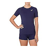 Womens ASICS Baselayer Short Sleeve Technical Tops
