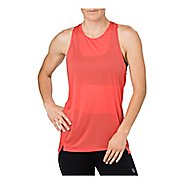 Womens ASICS Cool Sleeveless & Tank Technical Tops - Coralicious M