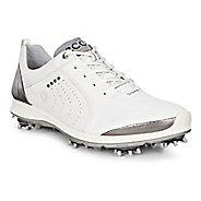 Womens Ecco Golf Biom G2 Free Cleated Shoe - White/Buffed Silver 42