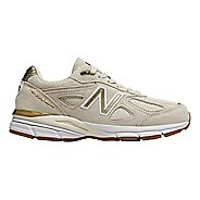 Womens New Balance 990v4 Running Shoe - Angora 10