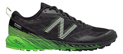 Mens New Balance Summit Unknown Trail Running Shoe - Black/Lime 12.5