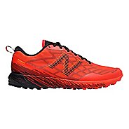 Mens New Balance Summit Unknown Trail Running Shoe - Flame/Impulse/Black 13