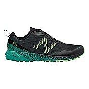 Womens New Balance Summit Unknown Trail Running Shoe - Black/Teal 7.5