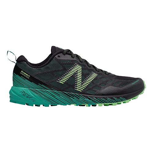 Womens New Balance Summit Unknown Trail Running Shoe - Black/Teal 8.5