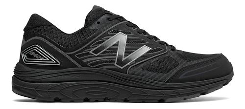 Mens New Balance 1340v3 Running Shoe - Black/Grey 11