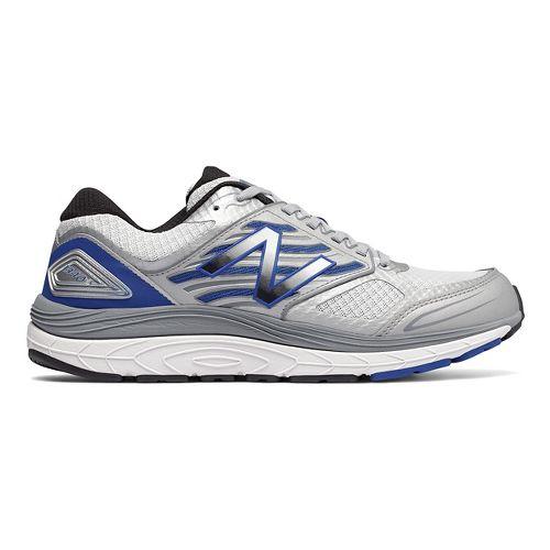 Mens New Balance 1340v3 Running Shoe - White/Blue 8