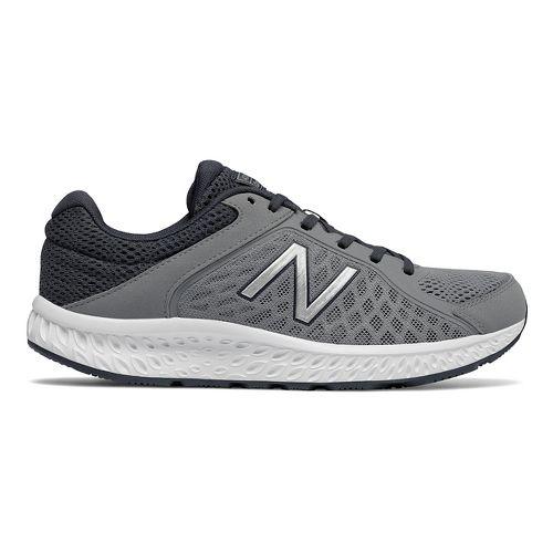 Mens New Balance 420v4 Running Shoe - Gunmetal/Silver 12