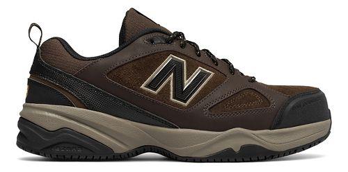 Mens New Balance 627v2 Walking Shoe - Brown/Black 15