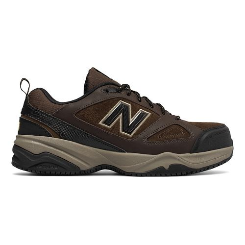Mens New Balance 627v2 Walking Shoe - Brown/Black 8