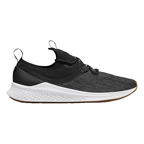Mens New Balance Fresh Foam Lazr v1 Running Shoe - Black/White 14